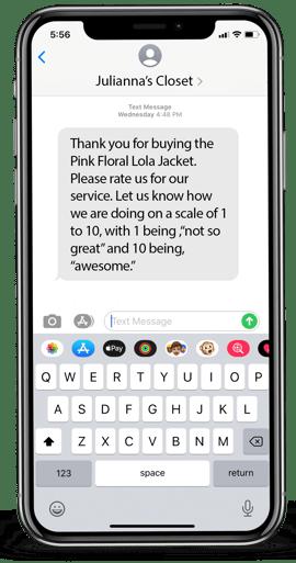 Survey Text Message Sample