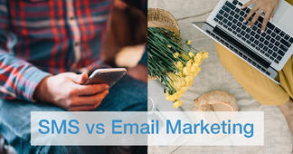 SMS vs. Email Marketing: Which Provides the Better ROI in 2020? - Featured Image